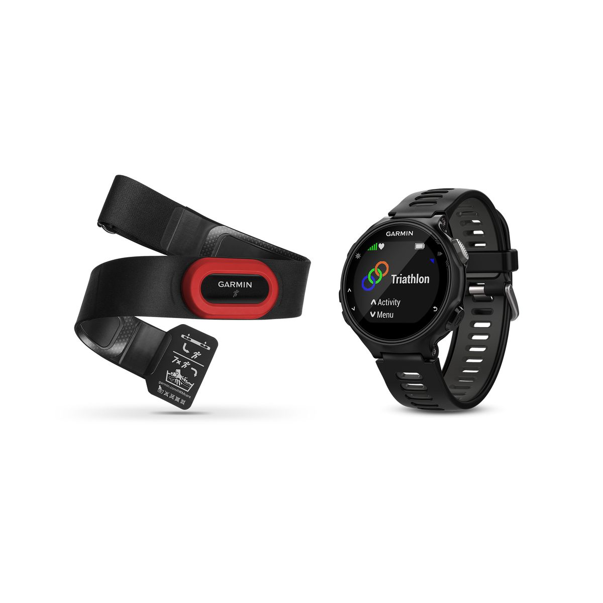 Forerunner 735XT GPS Laufuhr Run Bundle