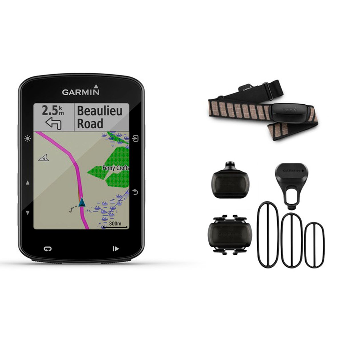 Edge 520 Plus GPS-Fahrradcomputer Performance Bundle