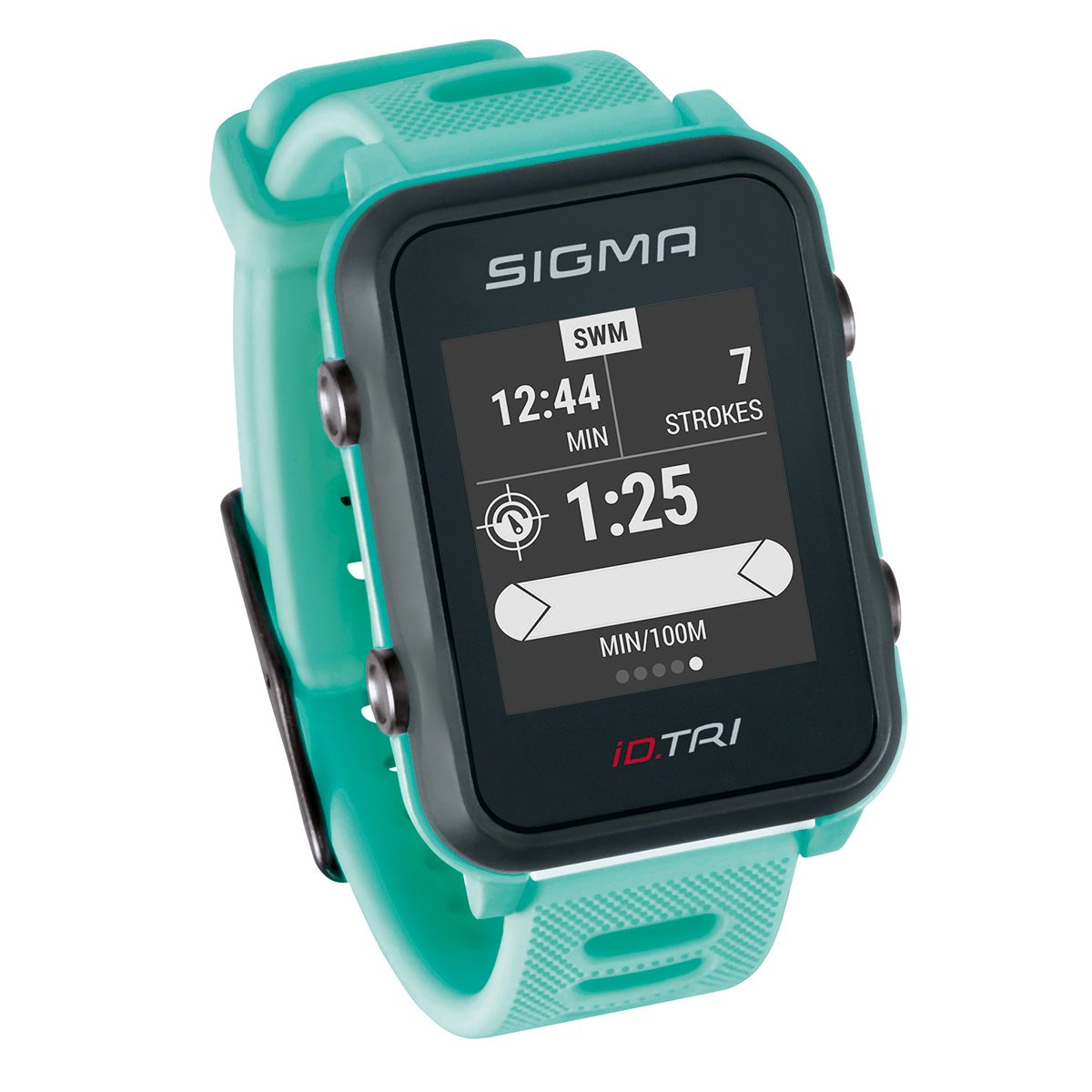 iD.TRI GPS Triathlon-Uhr Set