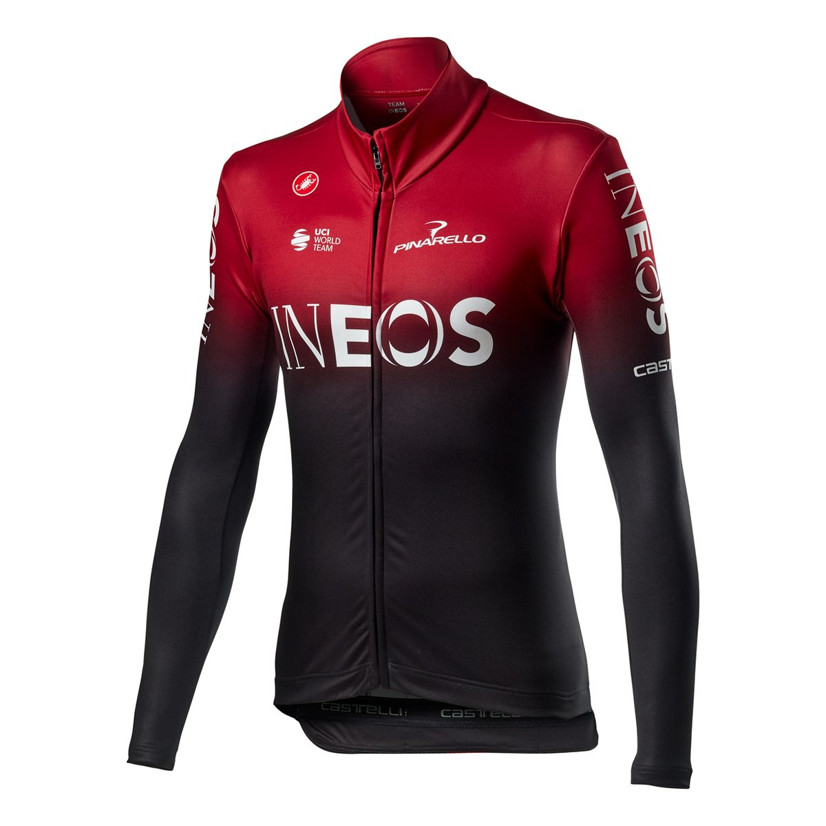 TEAM INEOS LS THERMAL JERSEY Thermo Fahrradtrikot