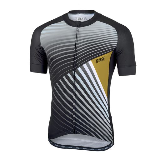 TOP BLACK COLOR Trikot kurzarm