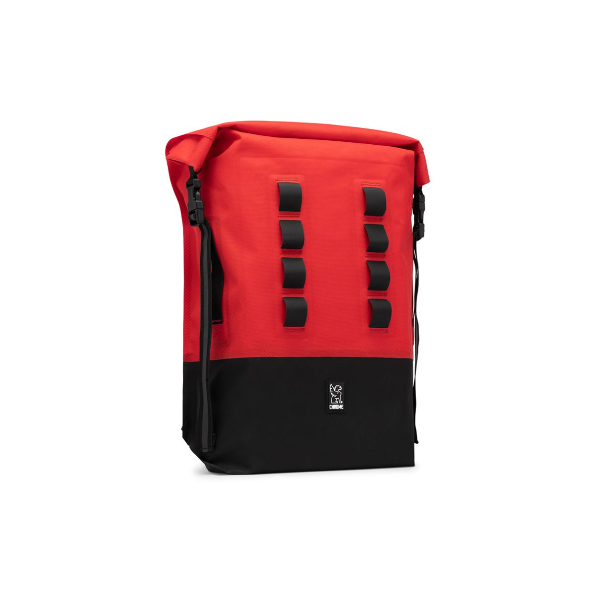 Image of CHROME Urban Ex Rolltop 28 Fahrrad Rucksack red/black