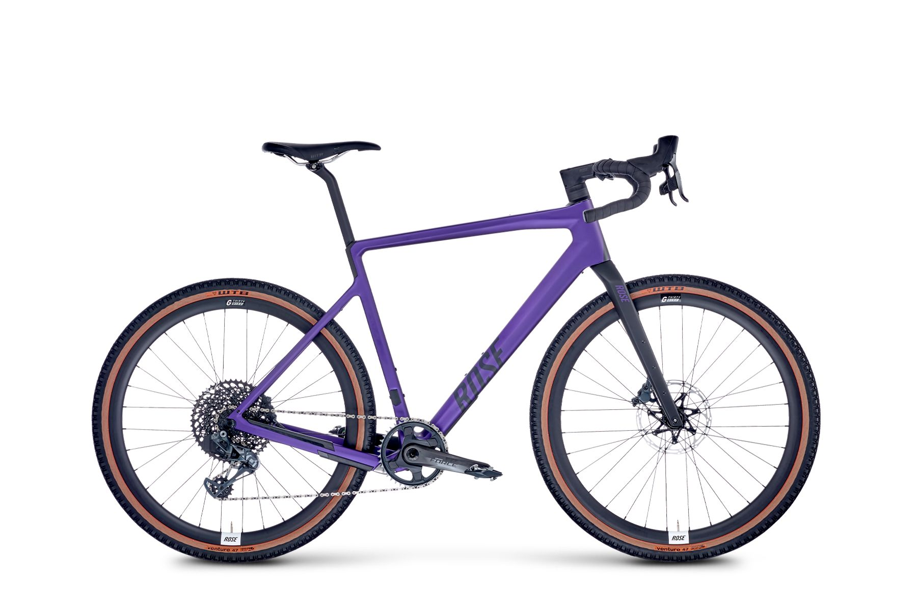 Image of ROSE BACKROAD AXS Mullet Build deepest purple