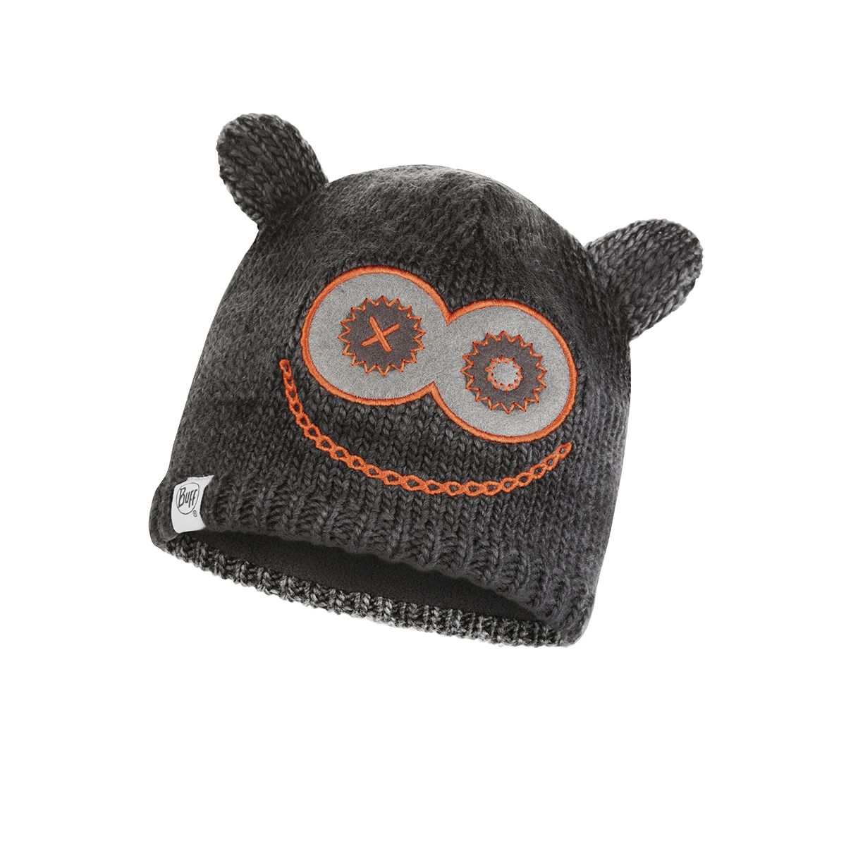 Monster Jolly Knitted & Polar Fleece Hat Kinder Mütze