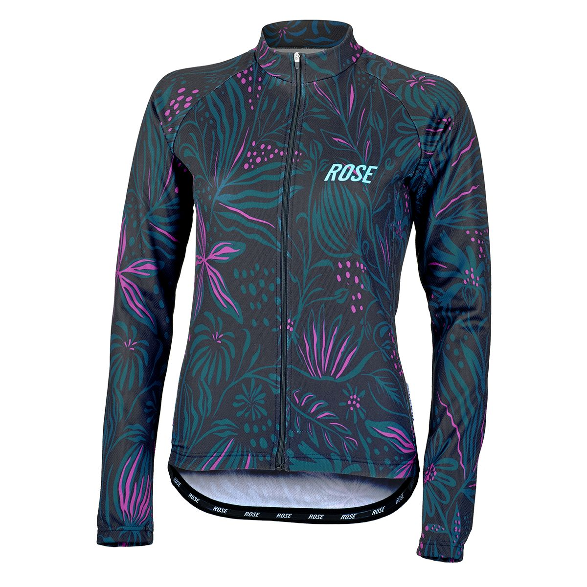 FLOWER THERMO Damen-Langarmtrikot