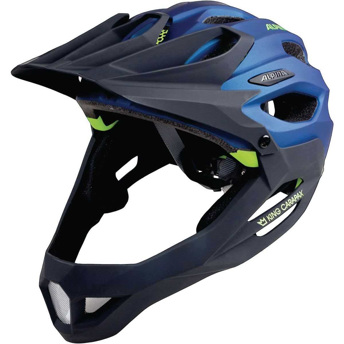 KING CARAPAX Enduro-Helm