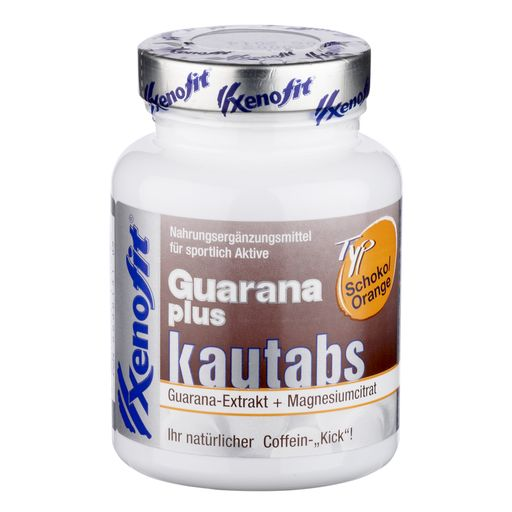 Guarana plus Kautabletten