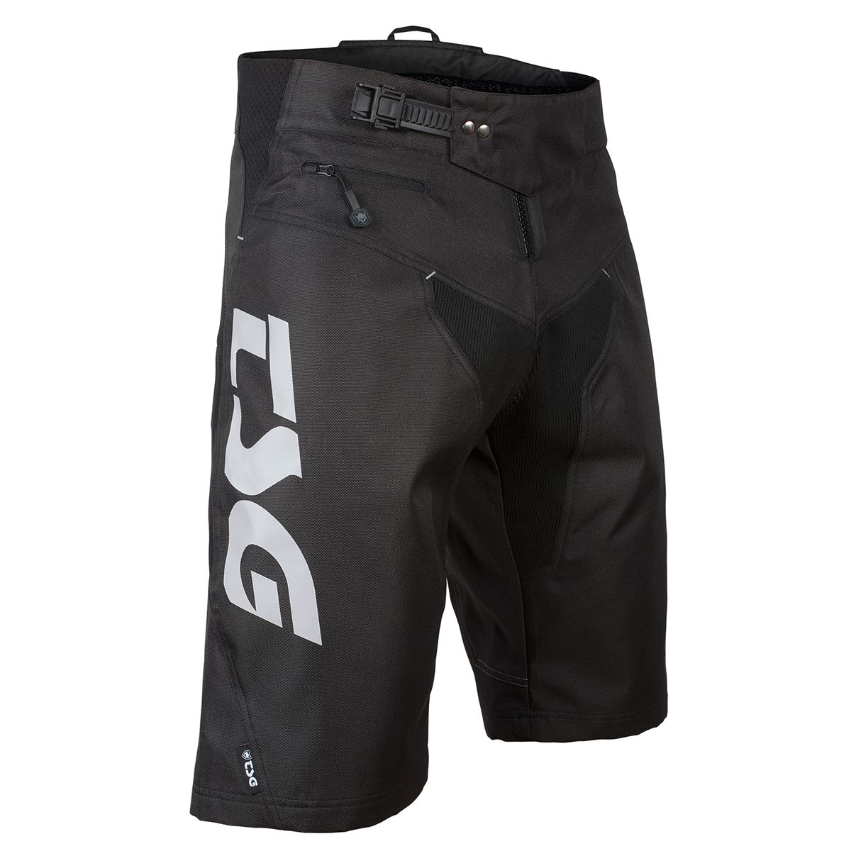 PLAIN BIKE SHORTS