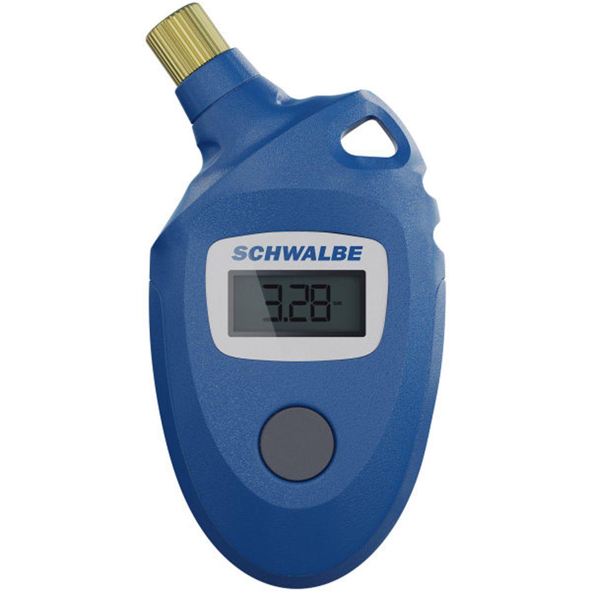 Fahrradteile/Pumpen: Schwalbe  Airmax Pro digitaler Luftdruckprüfer