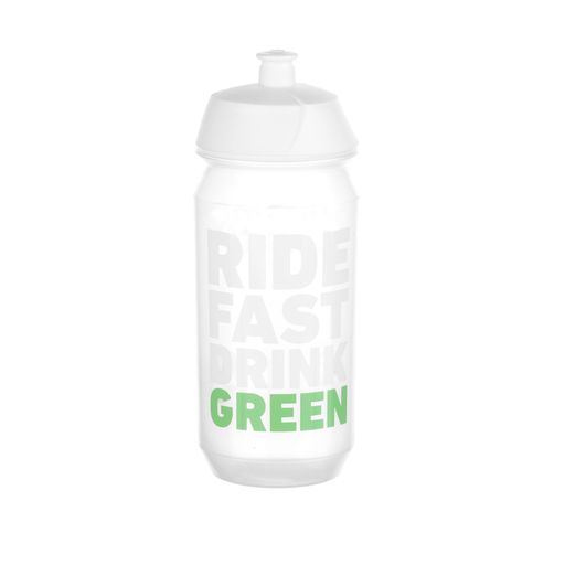 RIDE FAST DRINK GREEN Trinkflasche biobasiert 100% recyclebar