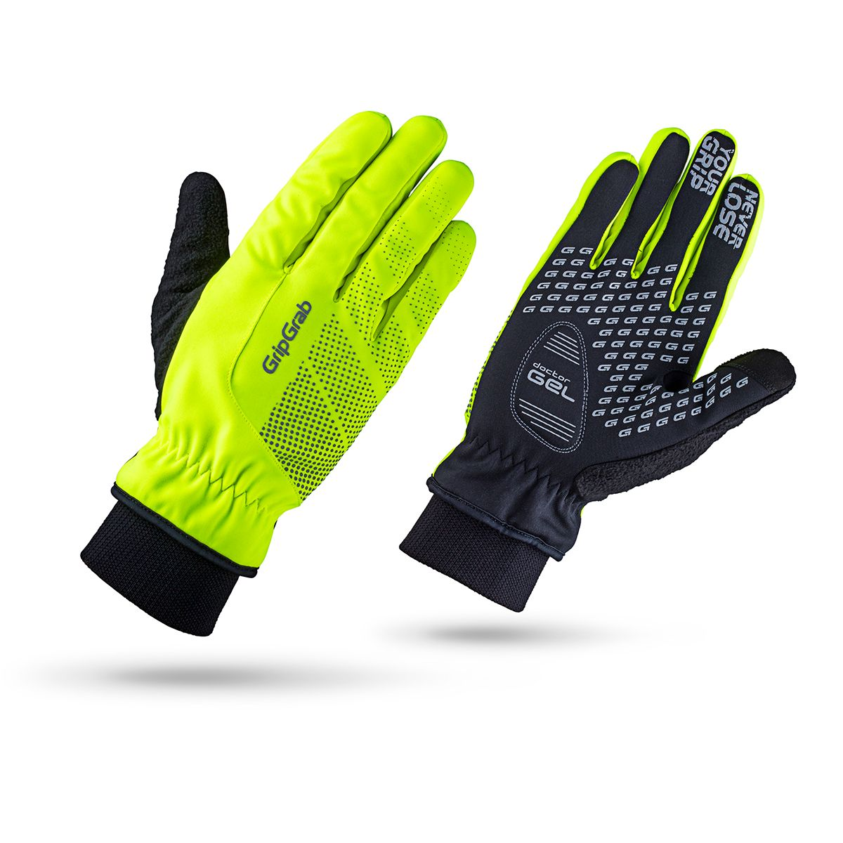 RIDE WINDPROOF HI-VIS WINTER GLOVE Radhandschuhe
