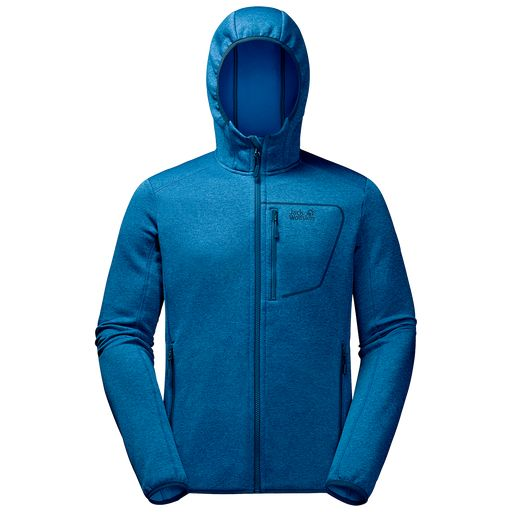 SKYLAND HOODED JACKET MEN Herren Fleecejacke