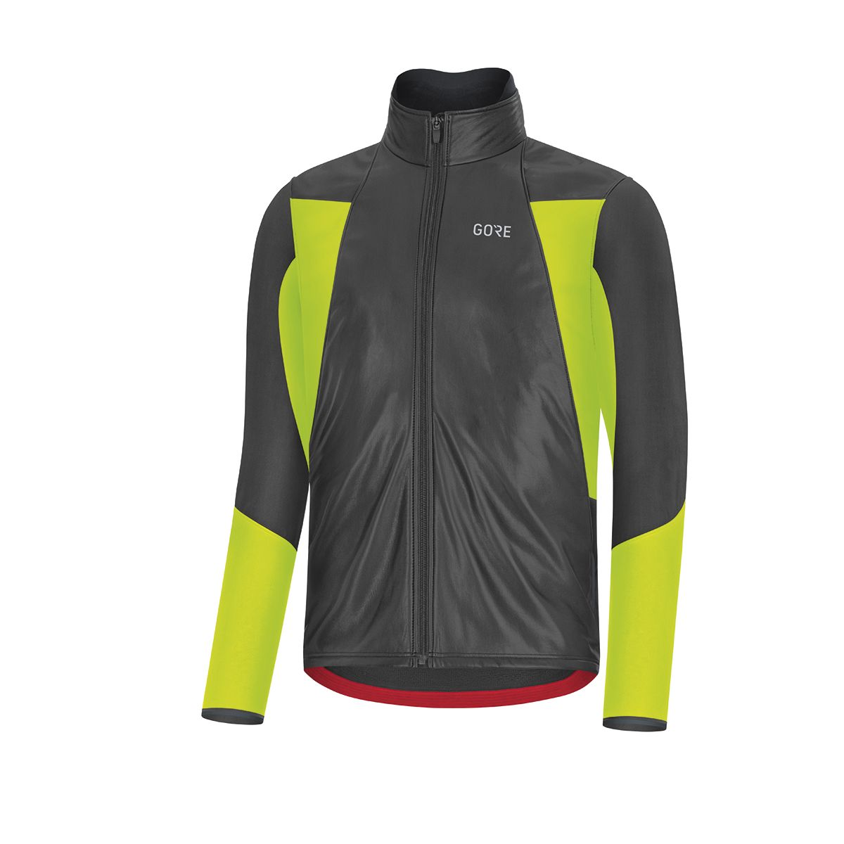 Image of GORE WEAR C5 GORE-TEX INFINIUM SOFT LINED THERMO JACKET Windjacke black/neon yellow