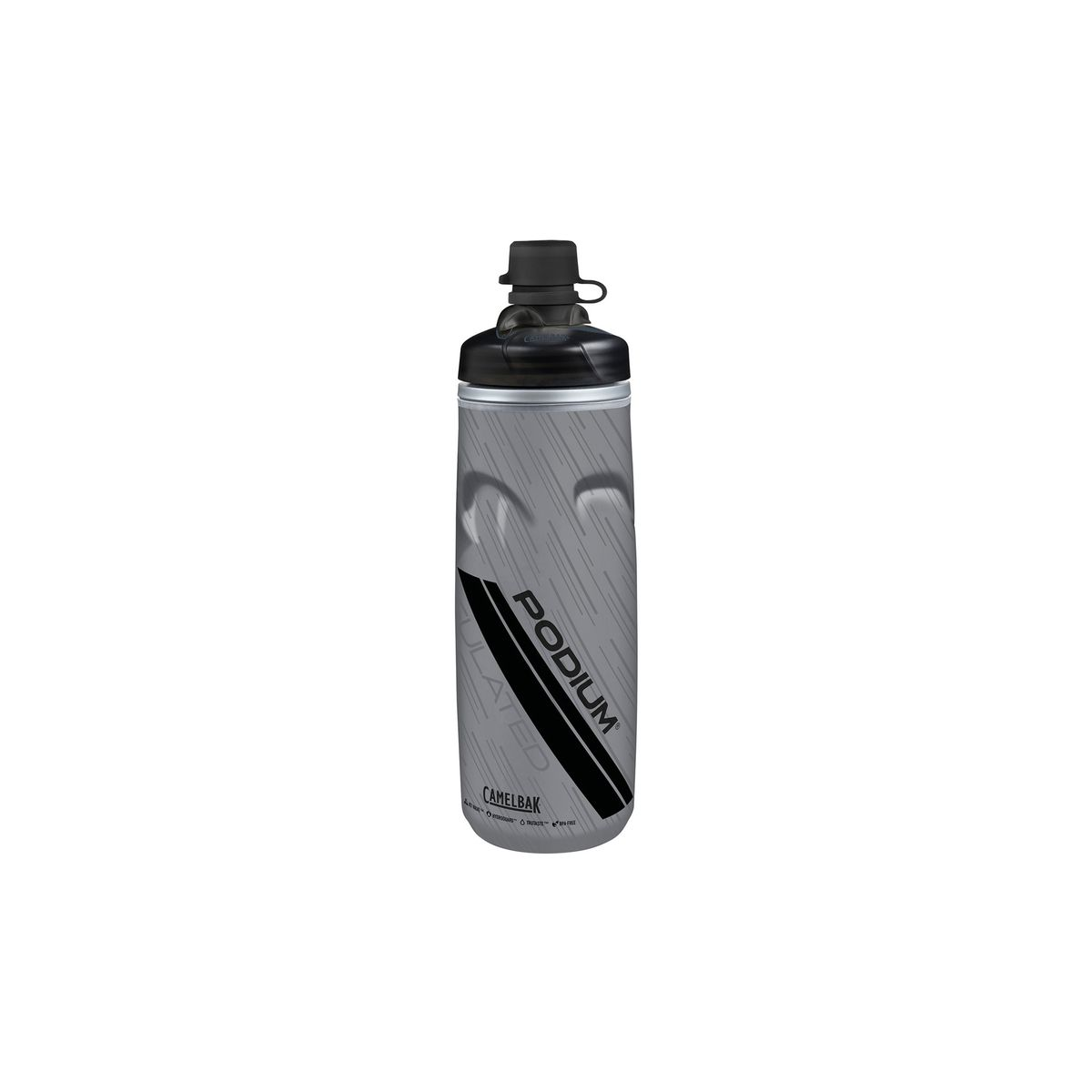 Podium Chill DS Thermo Trinkflasche Mud-Cap