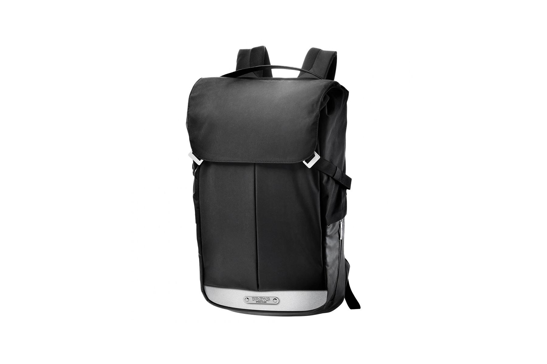 Image of Brooks Pitfield Backpack 28L - Urbaner Radrucksack - black