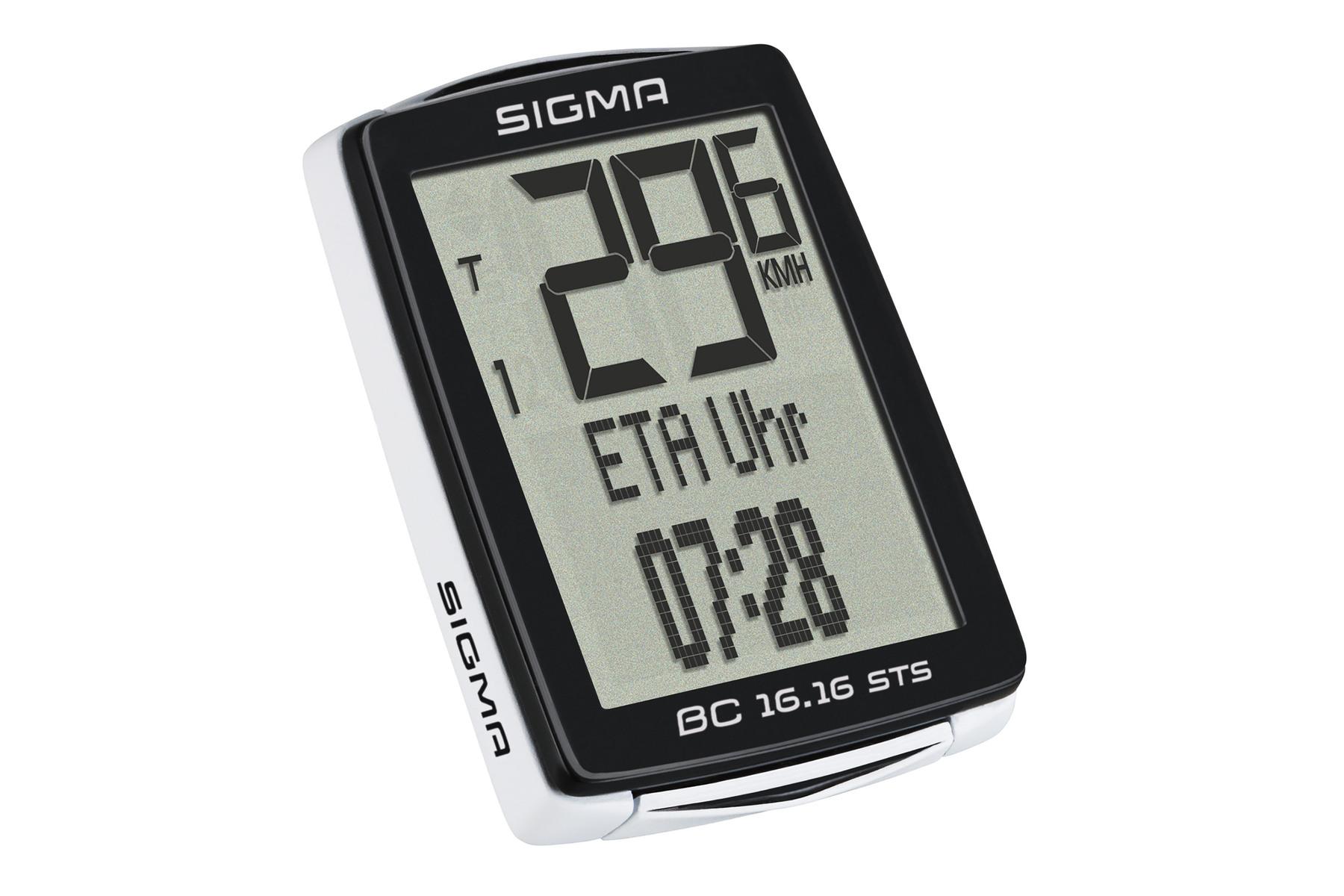 Sigma BC 16.16 STS Fahrradcomputer -kabellos-