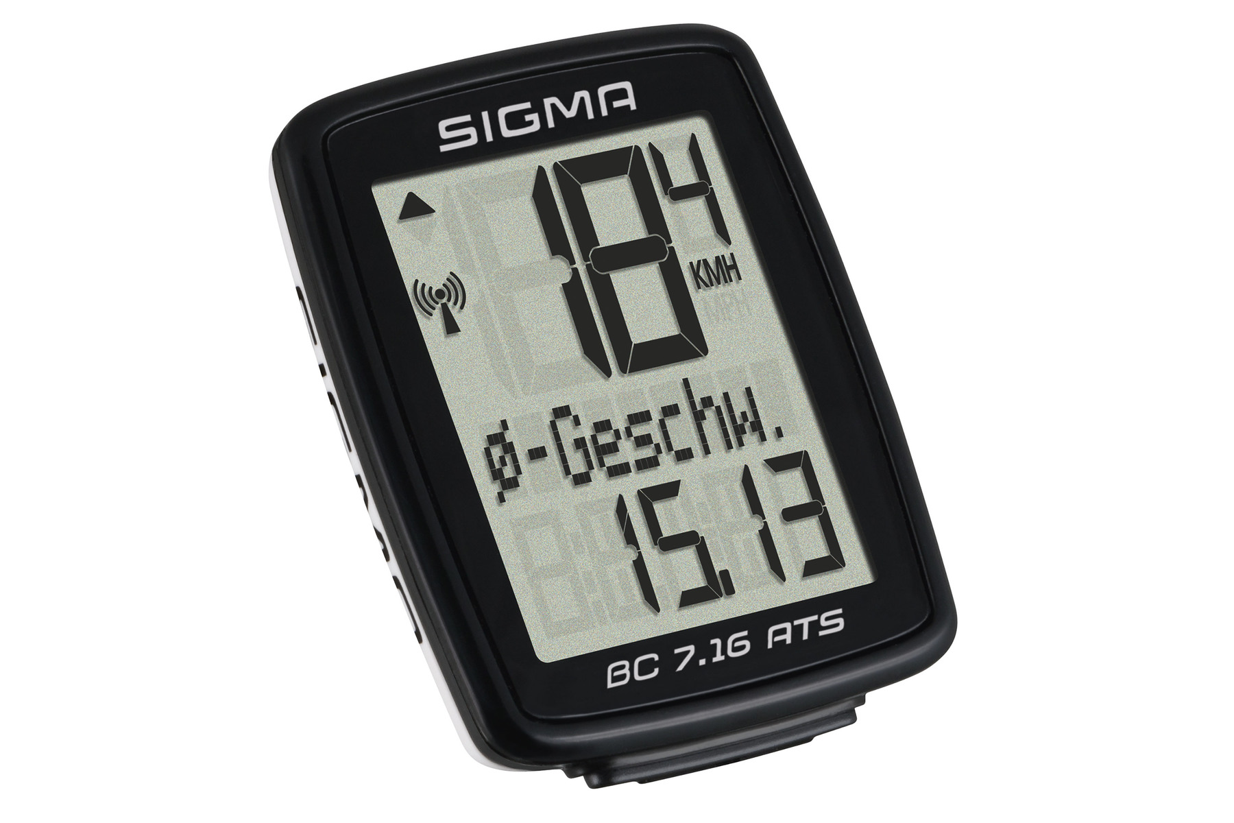 Sigma BC 7.16 ATS Fahrradcomputer -kabellos-