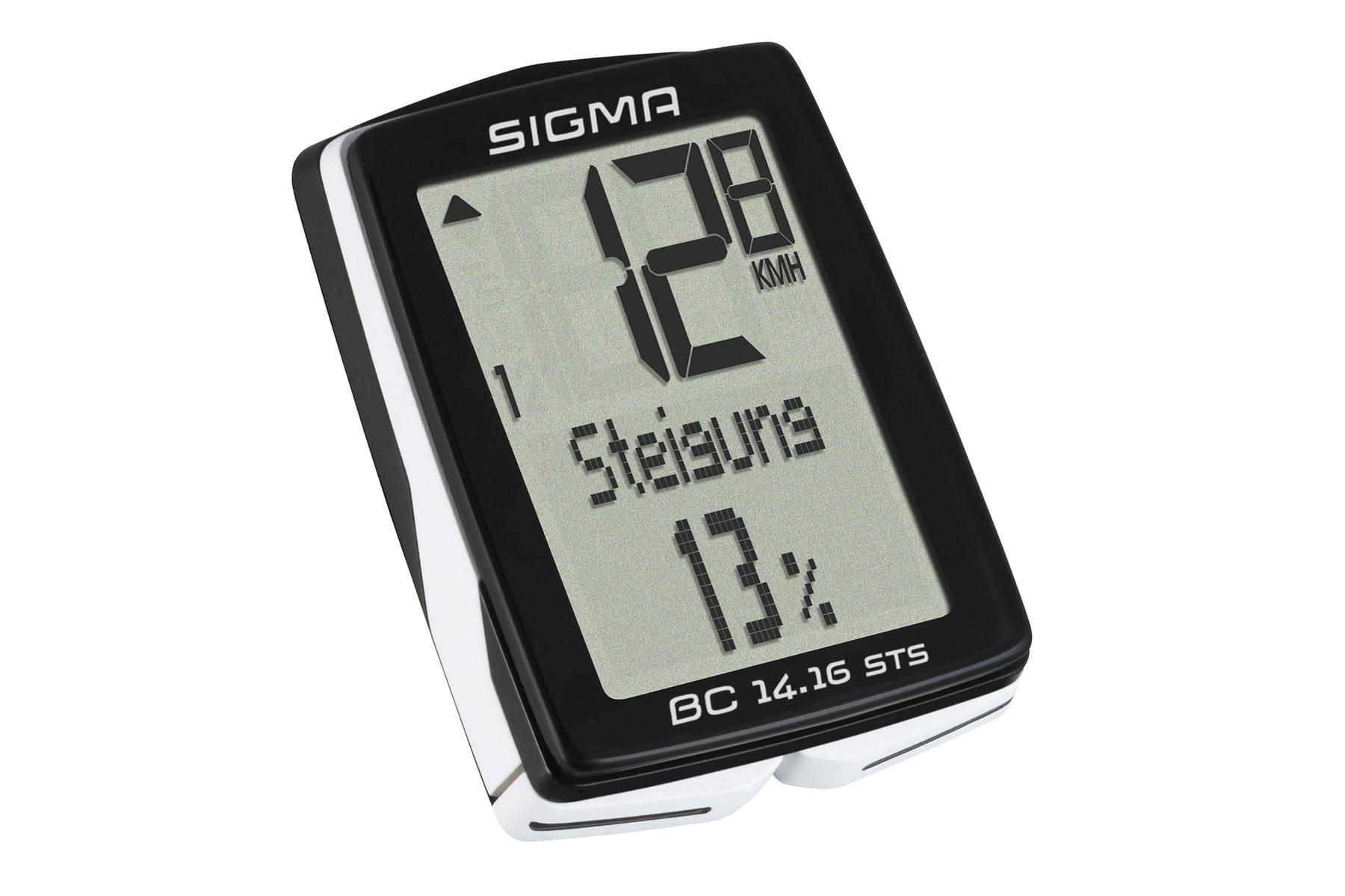 Sigma BC 14.16 STS Fahrradcomputer -kabellos-
