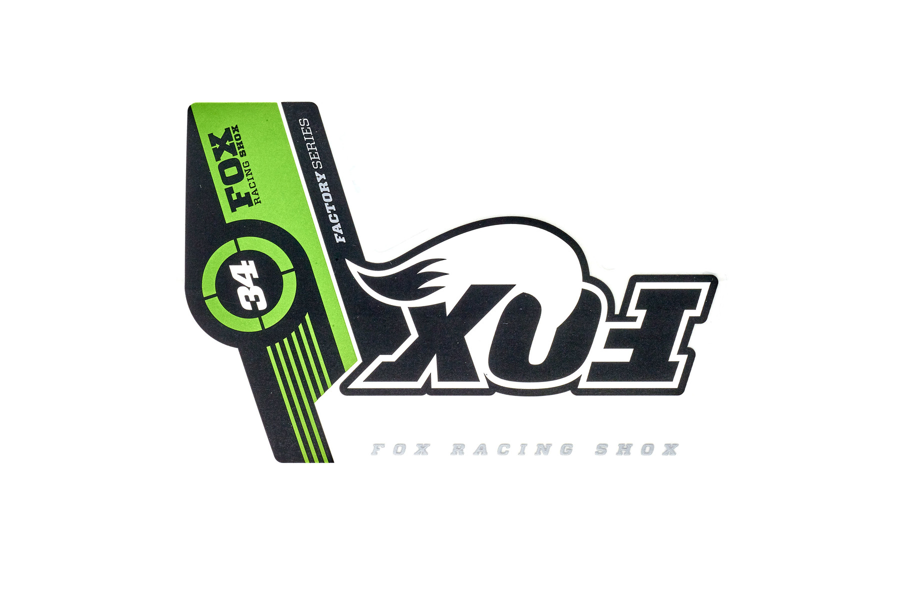 Fox Factory Series Aufkleber / Decals/ Sticker für 34er Gabeln