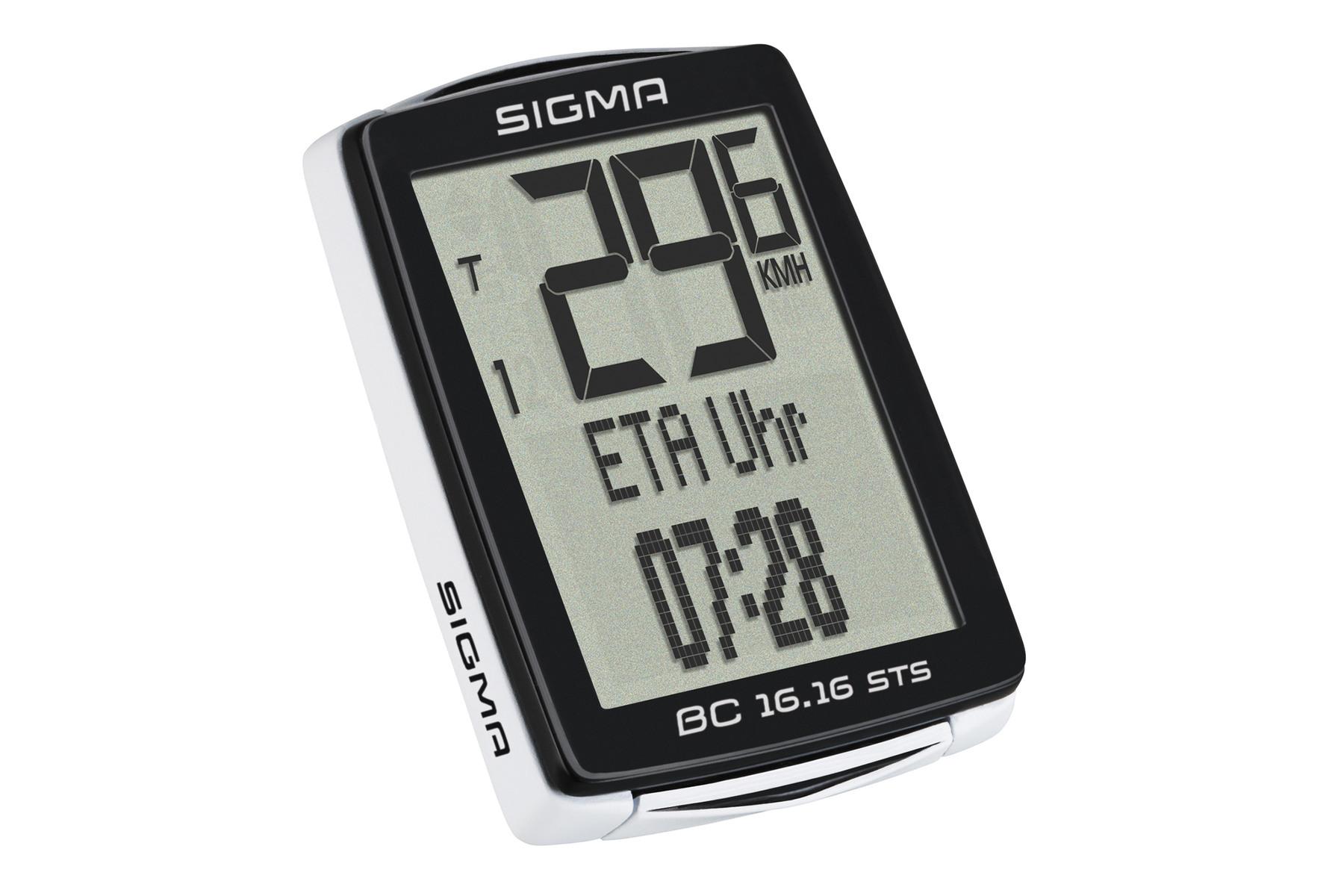 Sigma BC 16.16 STS CAD Fahrradcomputer -kabellos-