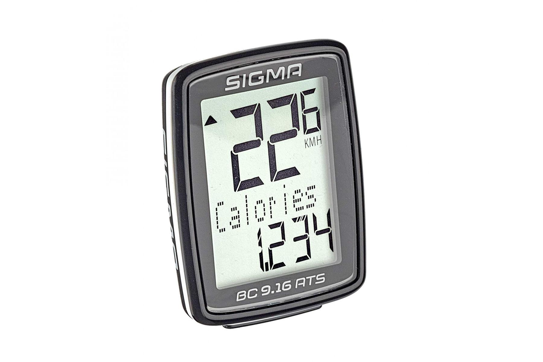 Sigma BC 9.16 ATS Fahrradcomputer -kabellos-