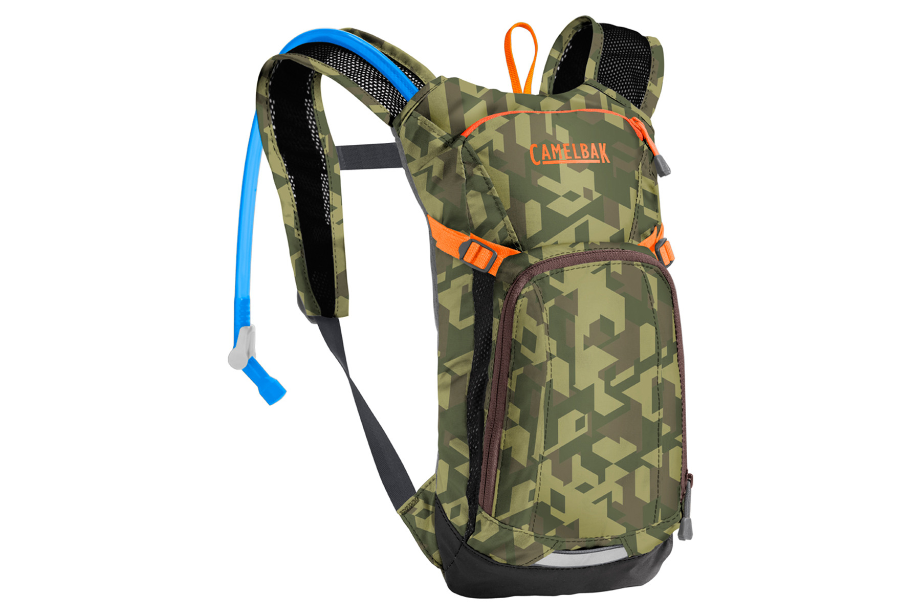 Image of CamelBak MINI M.U.L.E. Kinder Trinkrucksack camelflage/brown seal