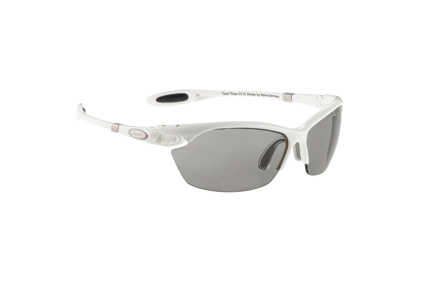 Alpina Twist Three 2.0 VL Sportbrille - white TQv0Xe