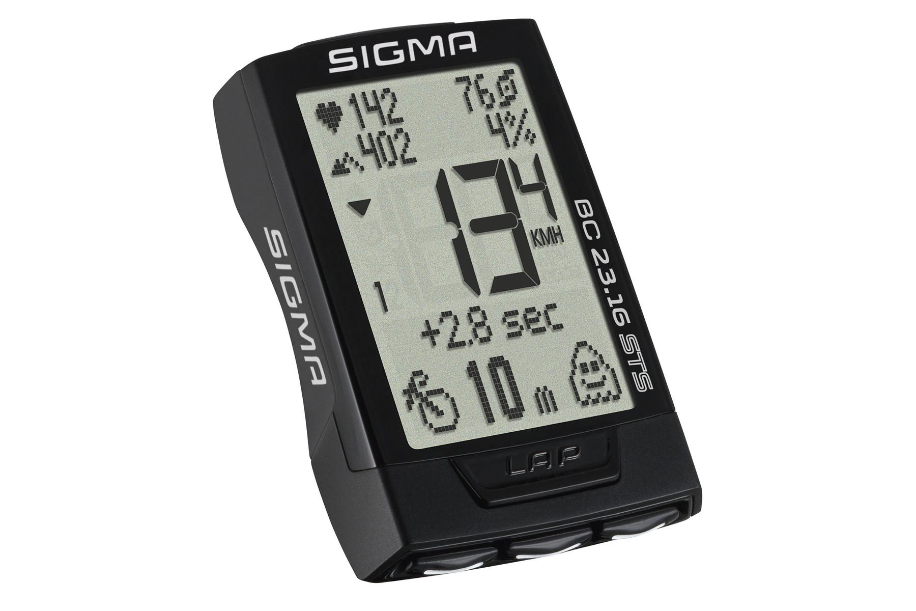 Sigma BC 23.16 STS Fahrradcomputer -kabellos-