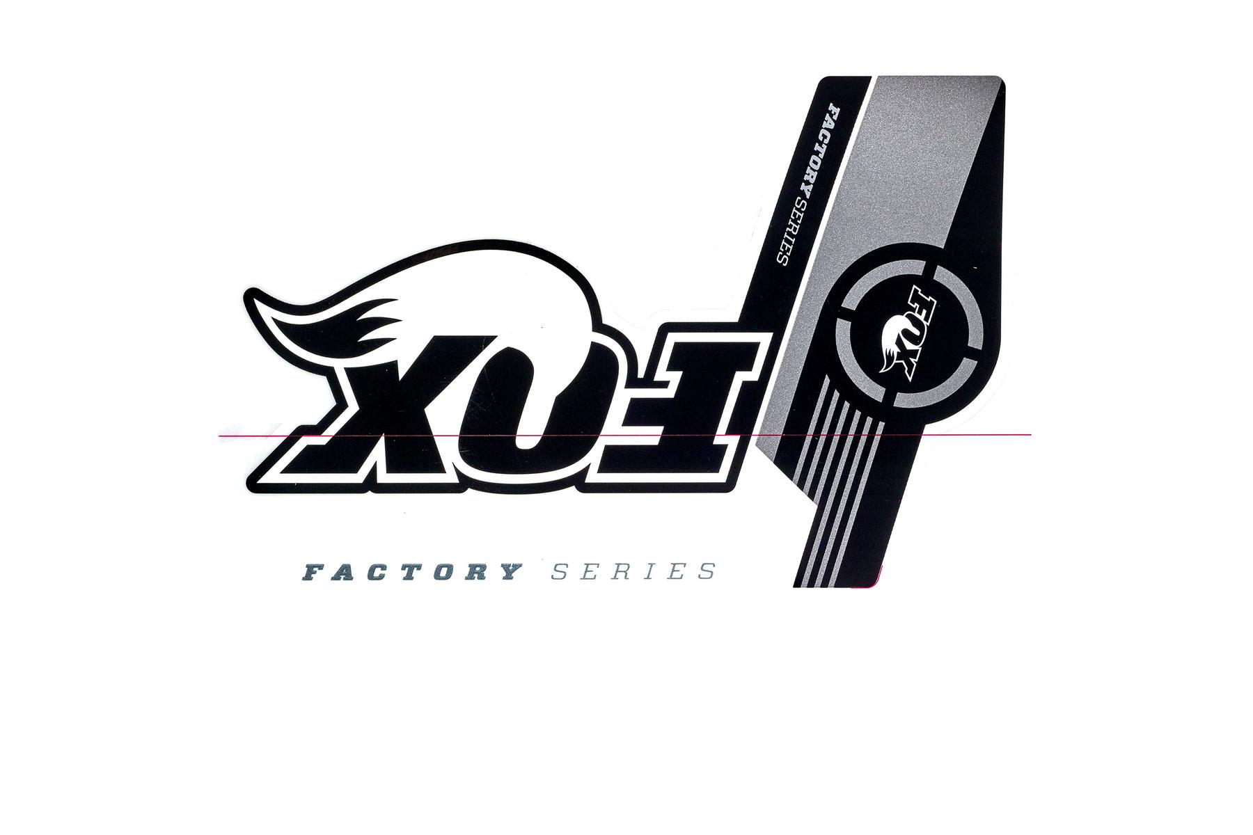 Fox FOX Factory Series Aufkleber / Decals/ Sticker für 36er Gabeln