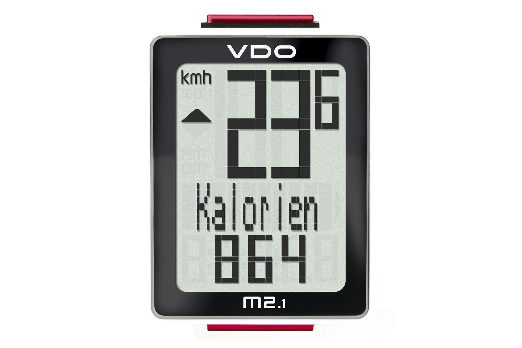 VDO M2.1 WL Fahrrad-Computer -kabellos 2016-