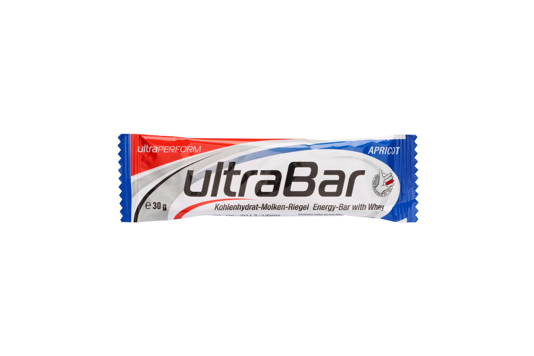 ultraSPORTS ultraBAR Kohlenhydrat Molkeneiweiß-Riegel