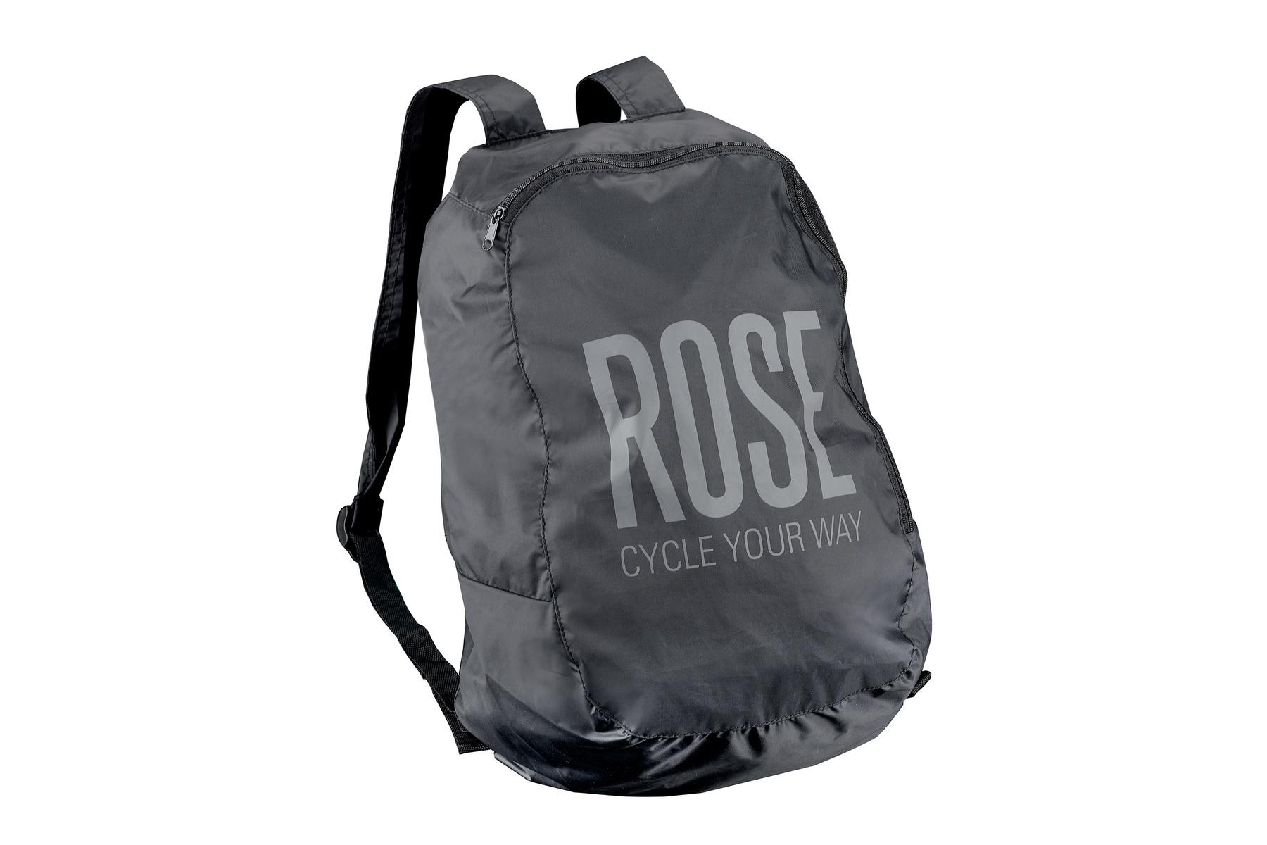 Image of ROSE Rucksack faltbar black/grey