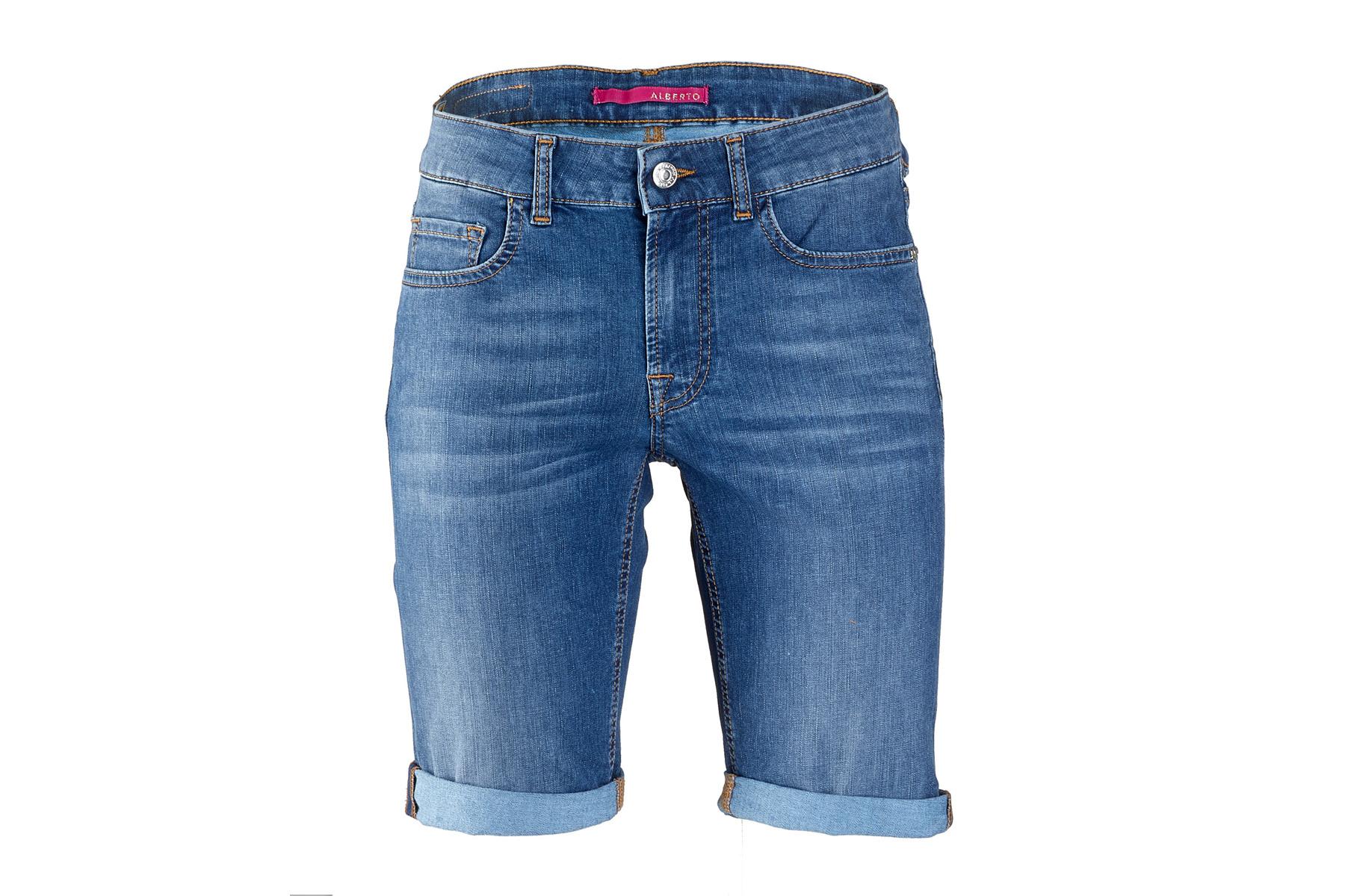 ALBERTO Coolmax Denim Jeans Short Damen Shorts kaufen | ROSE Bikes