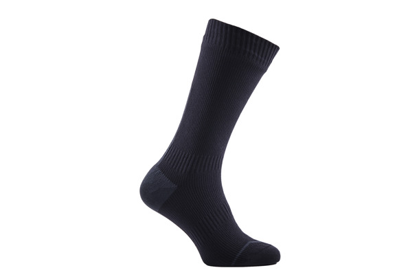 SEALSKINZ ROAD THIN MID HYDROSTOP wasserdichte Merino Socken